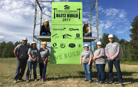 Banner Bank sponsors Habitat for Humanity