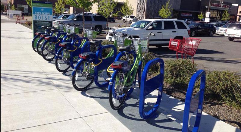 Banner Bank supports Boise Bike Share