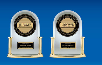Banner Bank received the JD Power award for best retail banking in the Northwest in 2017 and 2018
