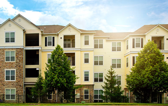 Apartment complex financed with Banner Bank's Multifamily lending for 5 or more units