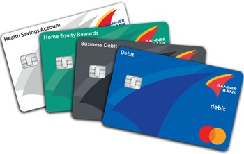 Banner Bank debit cards