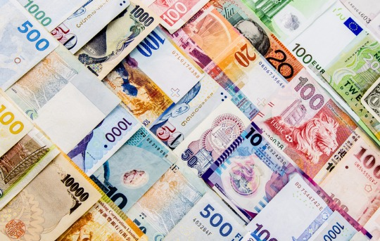 Foreign currency  for traveling abroad