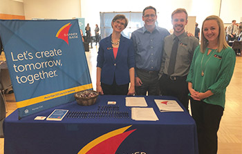 Banner Bank employees at job fair