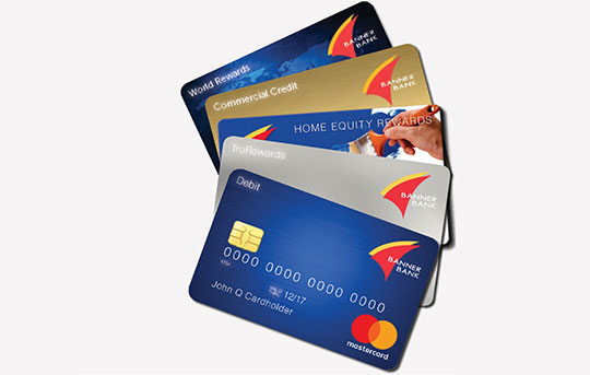 Banner Bank credit cards and debit cards