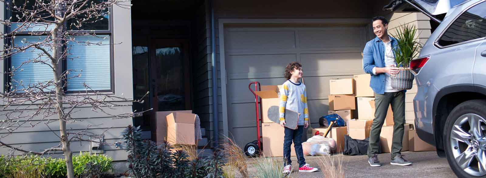 Family moves into new home with financing from Banner Bank home lending