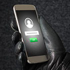 Photo of locked cell phone