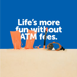 No ATM fees in the U.S. with Connected Checking