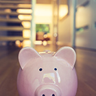 Personal Savings in a Piggy Bank